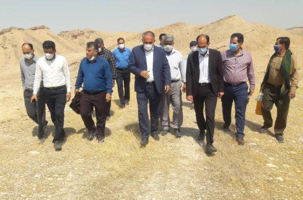 اجرای پروژه های آبخیزداری شهرستان های رامهرمز و رامشیر شتاب میگیرد