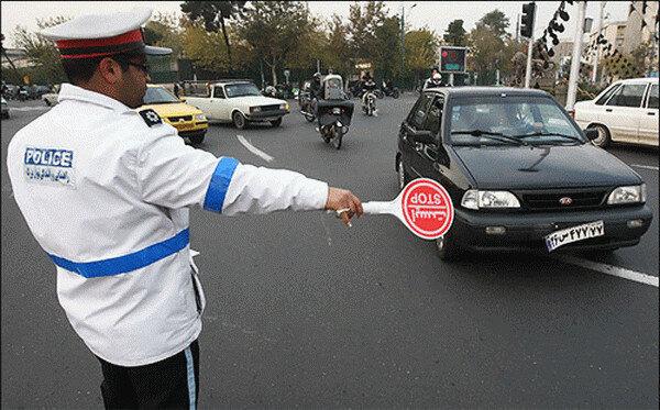 جریمه ۳۰۰۰ خودرو در شهرهای قرمز خوزستان در ۲۴ ساعت گذشته