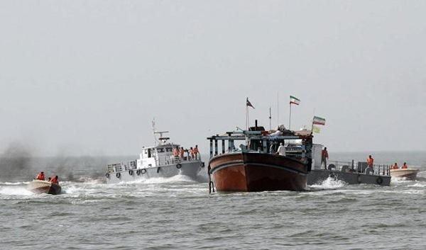 کشف ۱۵ هزار لیتر سوخت قاچاق در آبهای شمالی خلیجفارس