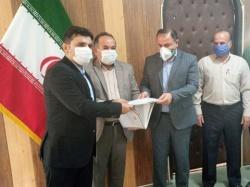 سرپرست جدید اداره صنعت،معدن و تجارت مسجدسلیمان معرفی شد