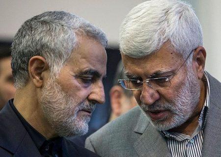 تهدید دولت عراق از سوی آمریکا درباره تصاویر سردار سلیمانی
