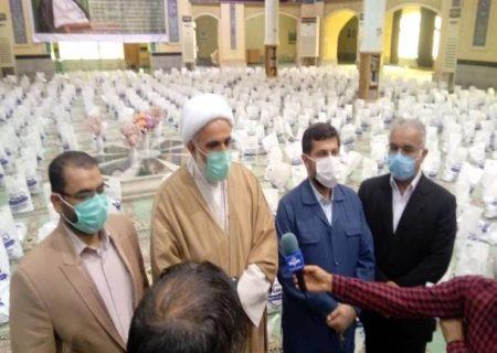 ۱۴۰۰ بسته معیشتی بین اقشار آسیب دیده از کرونا در آبادان توزیع شد