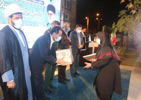 جشن بزرگ انقلاب اسلامی در مرکز آموزش علمی کاربردی شهرداری اهواز برگزار شد.