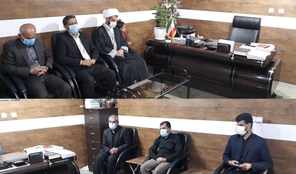 امام جمعه باغملک با مدیر و پرسنل آموزش و پرورش این شهرستان دیدار کرد