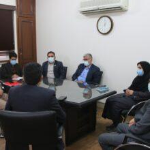 اولین جلسه کمیته بازرسی ویژه کرونا در دفتر اداره کل بازرسی استانداری برگزار شد
