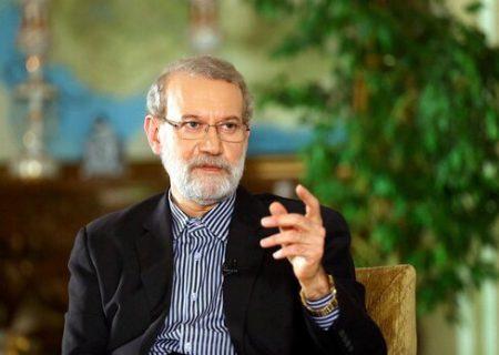 پاسخ علی لاریجانی به یک سوال مهم درباره خوزستان