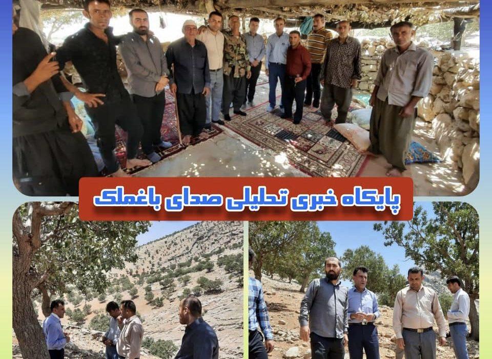 بازدید مدیرکل امورعشایر از منطقه عشایری بخش صیدون: وعده حل مشکل آب عشایر سردوراب ، بن دوراب و پامیل