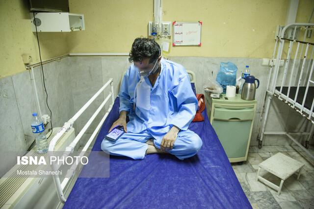 رئیس بیمارستان عنوان کرد  اشغال ۵۰ درصد تختهای بیماران کرونایی بیمارستان امیرالمومنین(ع) اهواز
