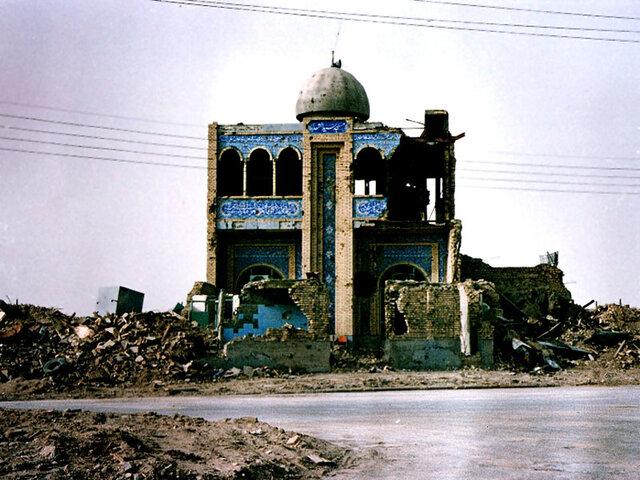 مسجد سیدالشهدا؛ یادگاری از جنگ در خرمشهر