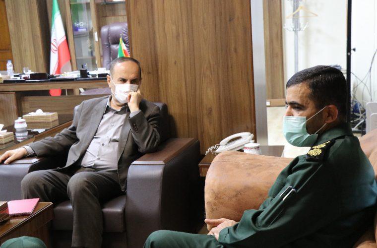 دیدار سازمان بسیج ادارات و کارمندان خوزستان با استاندار به مناسبت روز بسیج کارمندی و هفته دولت